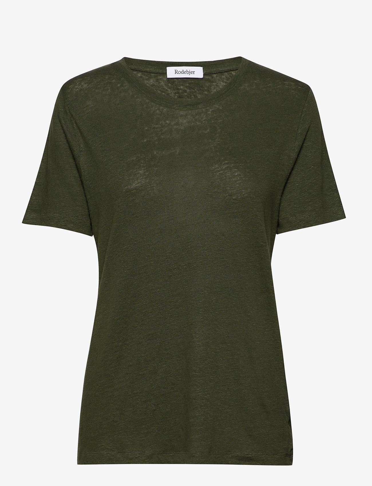 RODEBJER - Ninja Linen - koszulki basic - shaded palm