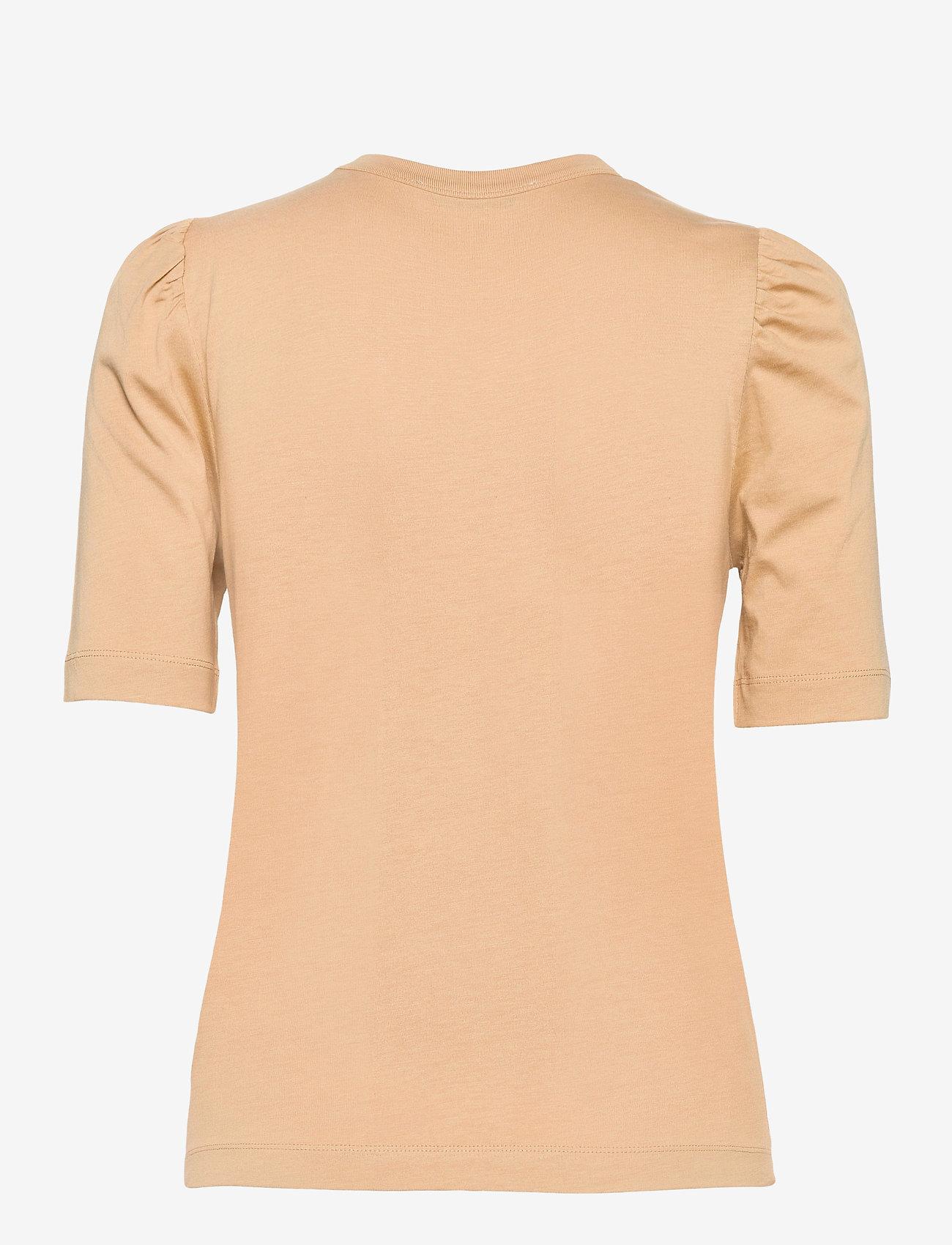 RODEBJER - RODEBJER DORY - t-shirts - camel - 1