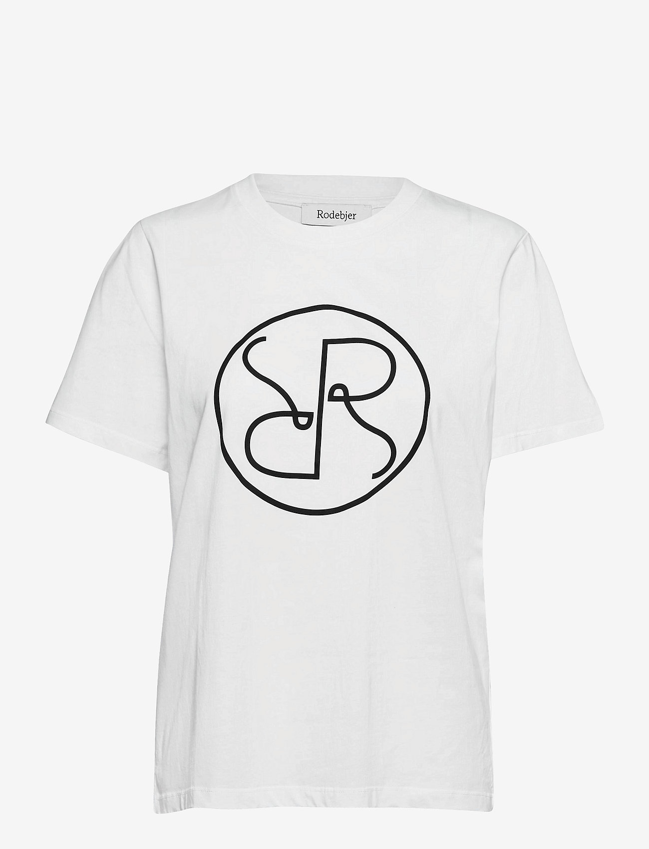 RODEBJER - RODEBJER MONOGRAM T - t-shirts - white - 0