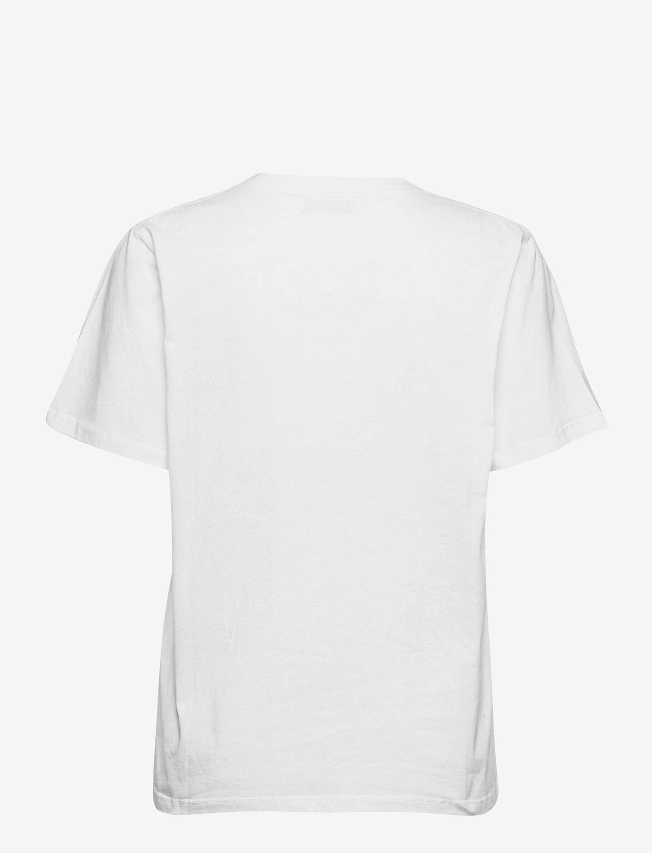 RODEBJER - RODEBJER MONOGRAM T - t-shirts - white - 1