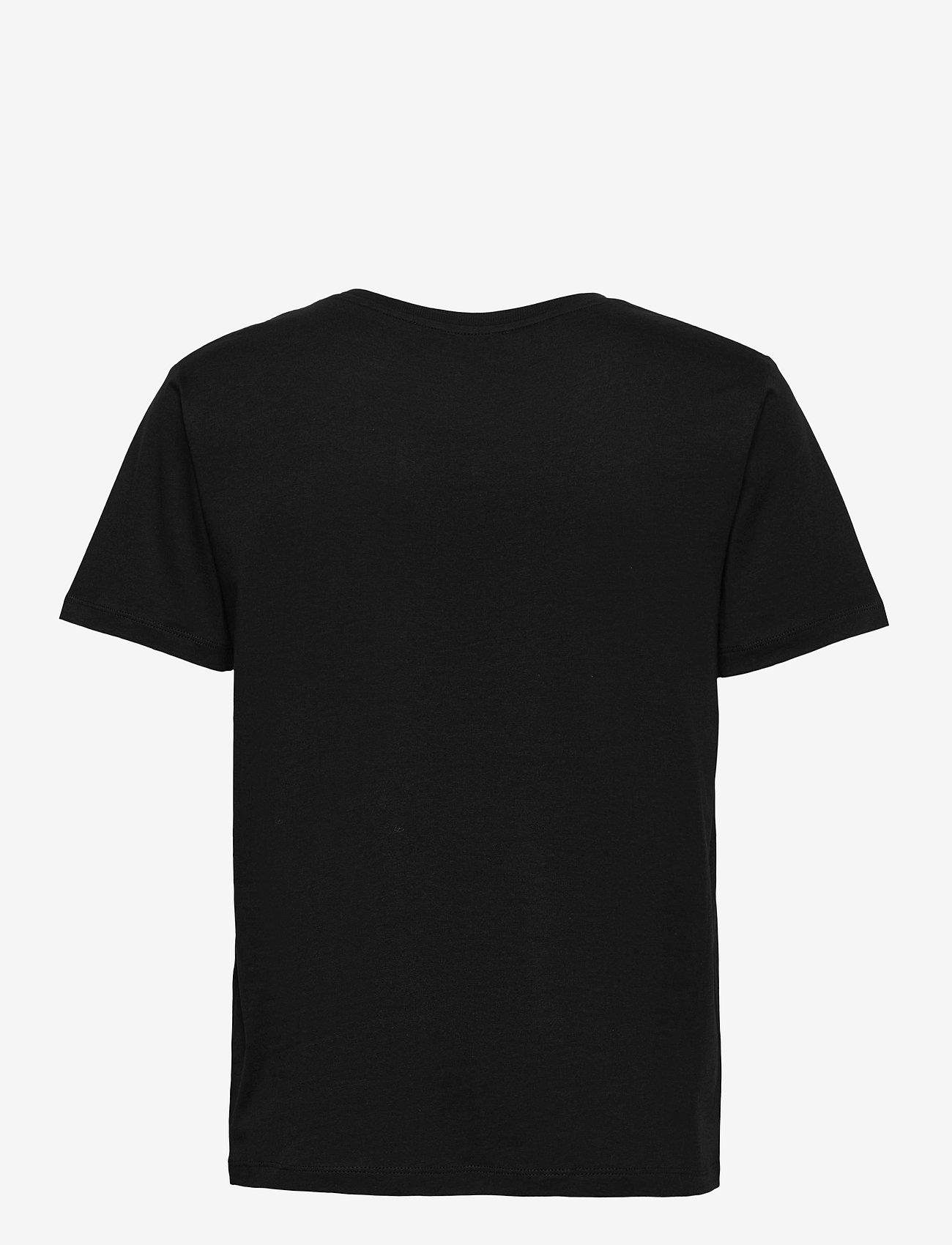 RODEBJER - RODEBJER NINJA LOGO - t-shirts - black - 1