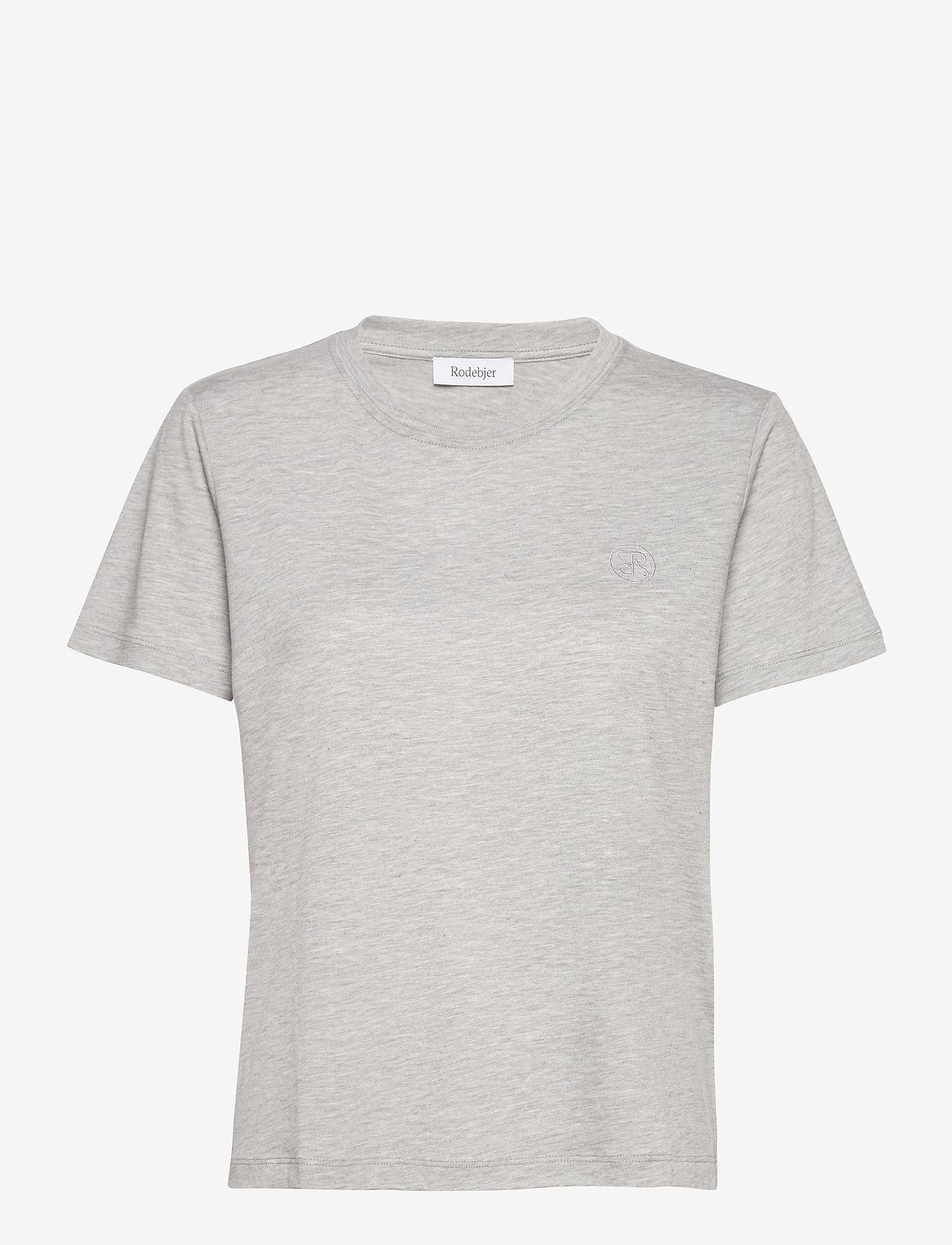 RODEBJER - RODEBJER NINJA LOGO - t-shirts - grey melange - 0