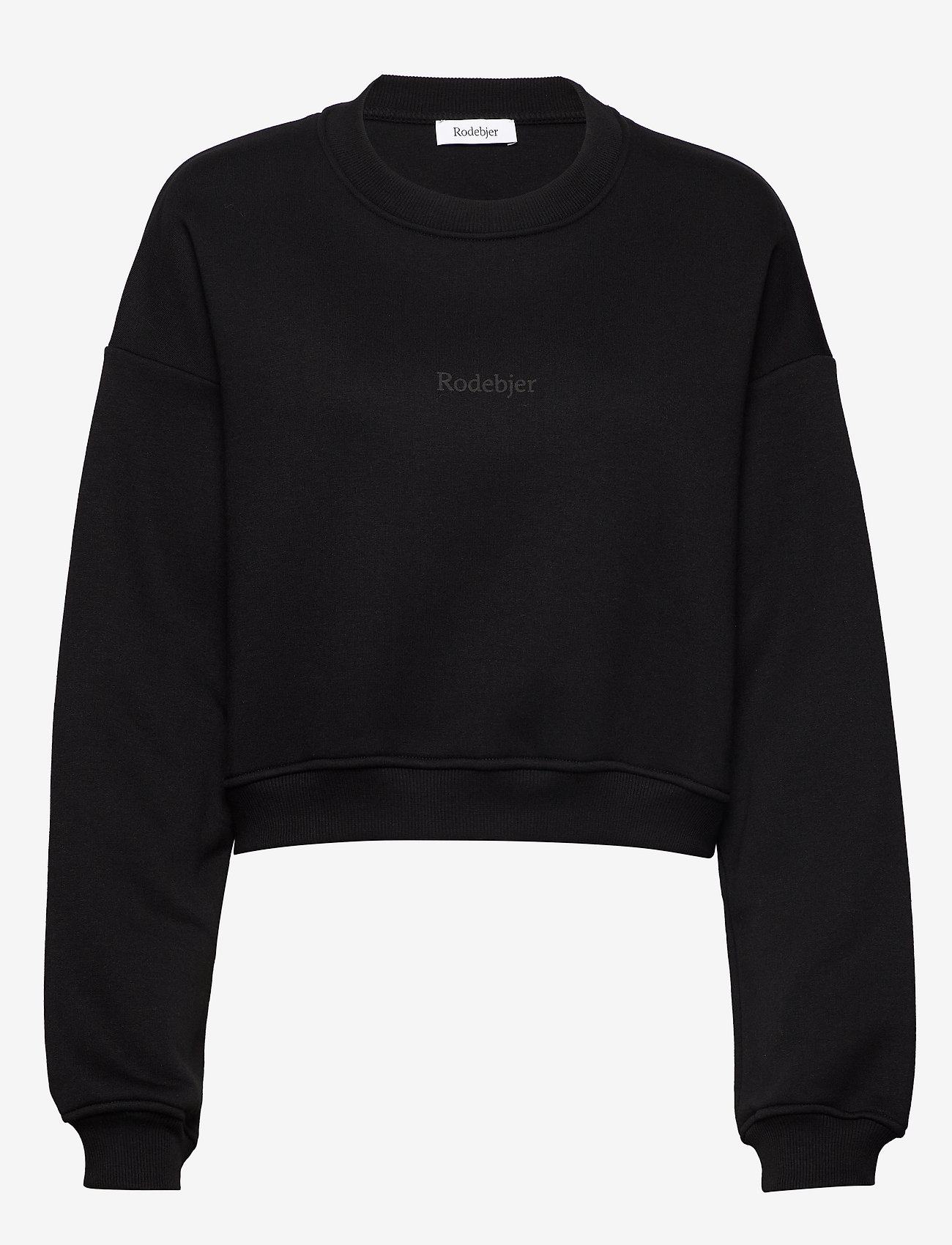 RODEBJER - RODEBJER KOLOMAN - sweatshirts & hættetrøjer - black - 0