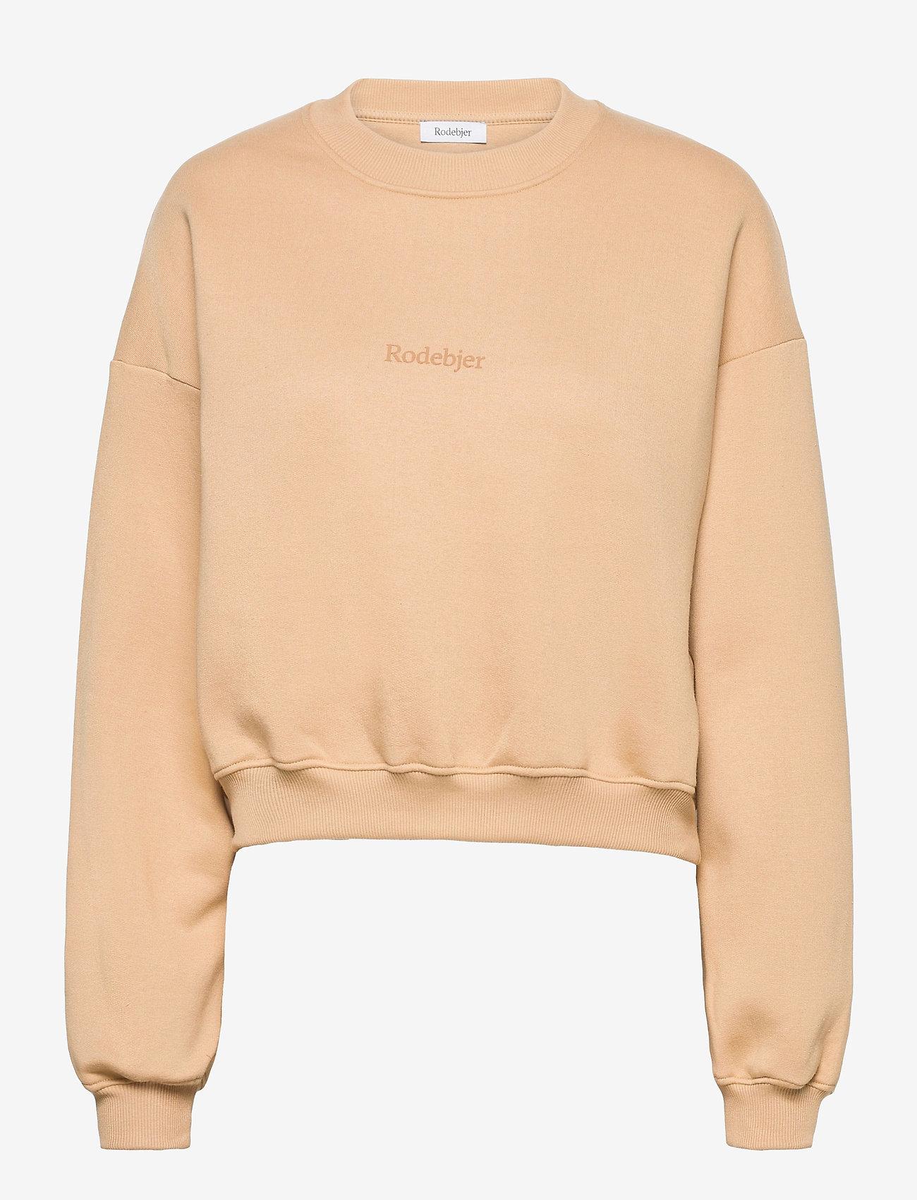 RODEBJER - RODEBJER KOLOMAN - sweatshirts & hættetrøjer - camel - 0