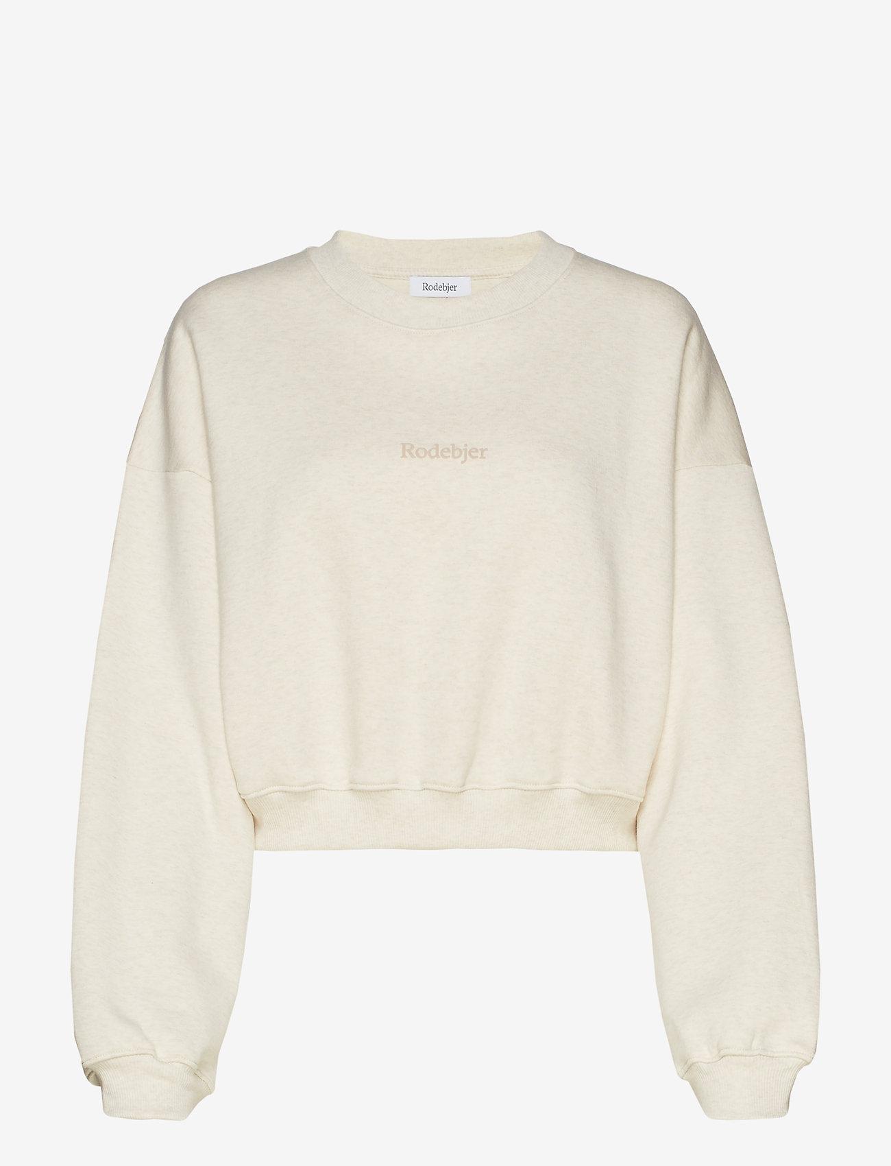 RODEBJER - RODEBJER KOLOMAN - sweatshirts & hættetrøjer - puffy white - 1