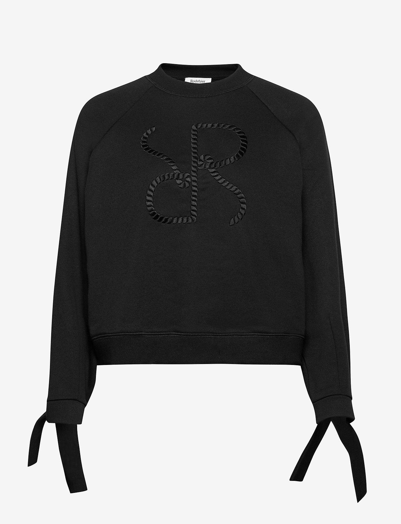 RODEBJER - RODEBJER ZORINA - sweatshirts & hættetrøjer - black - 0