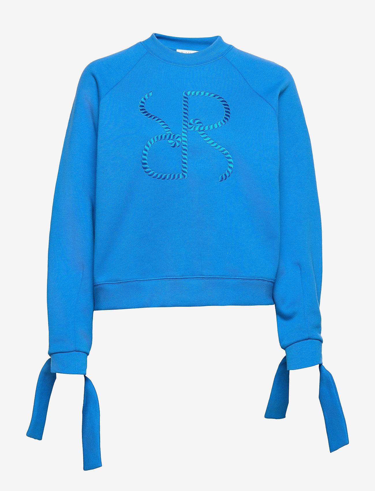 RODEBJER - RODEBJER ZORINA - sweatshirts & hættetrøjer - blue poppy - 0