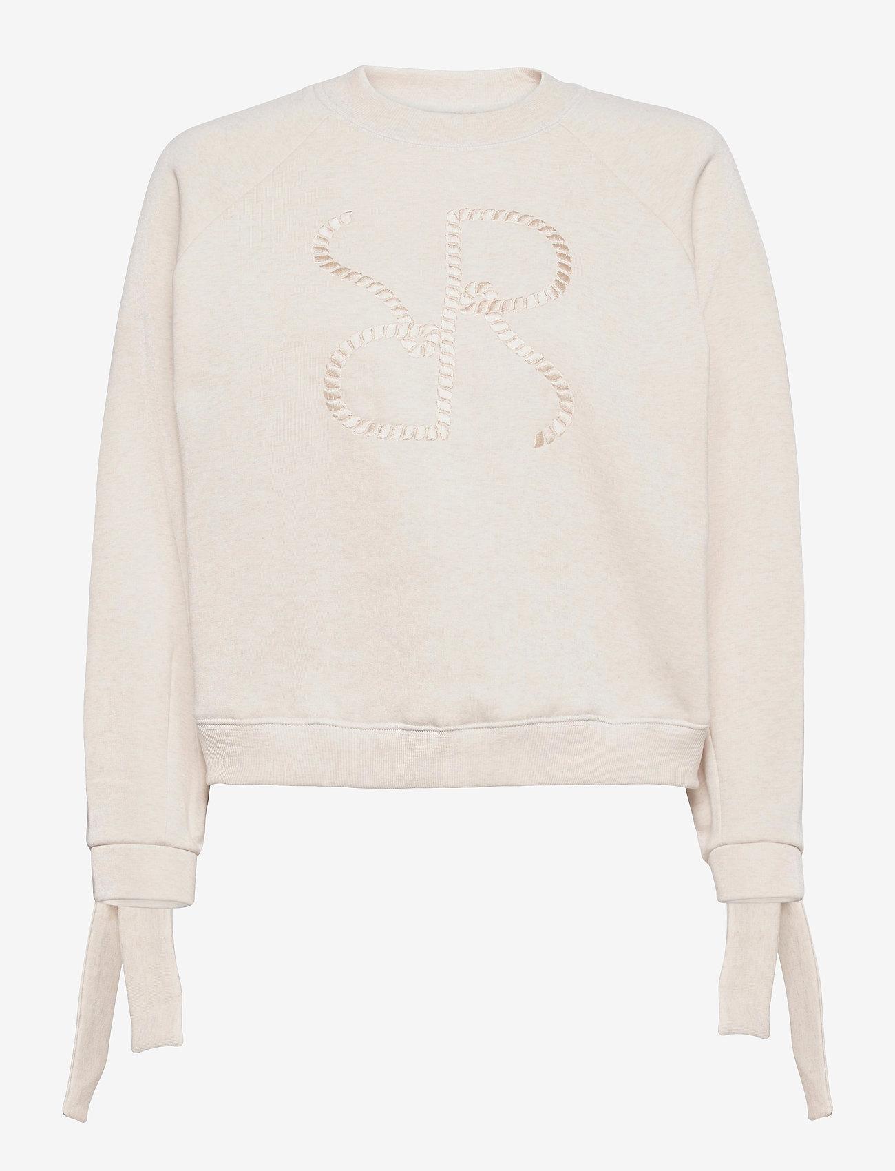 RODEBJER - RODEBJER ZORINA - sweatshirts & hættetrøjer - puffy white - 0