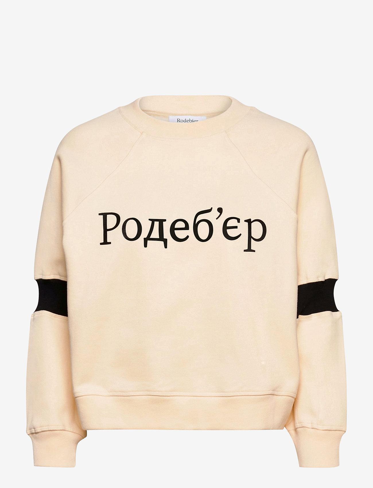 RODEBJER - RODEBJER JALENA - sweatshirts & hættetrøjer - ceramic white - 0
