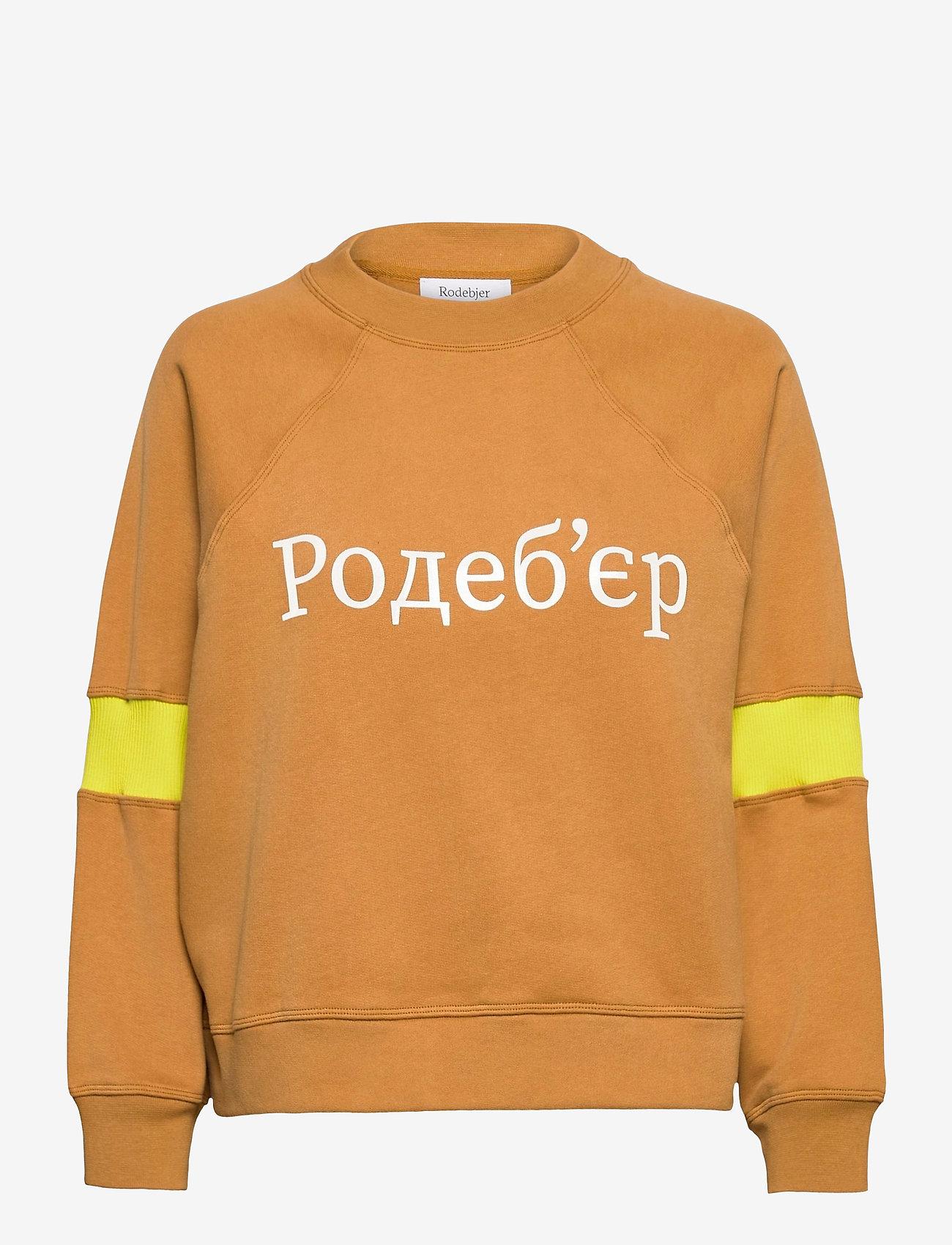 RODEBJER - RODEBJER JALENA - sweatshirts en hoodies - havanna brown - 0