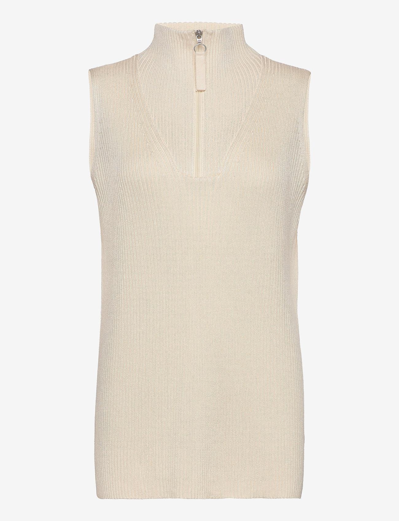 RODEBJER - RODEBJER LADA - knitted vests - ceramic white - 0
