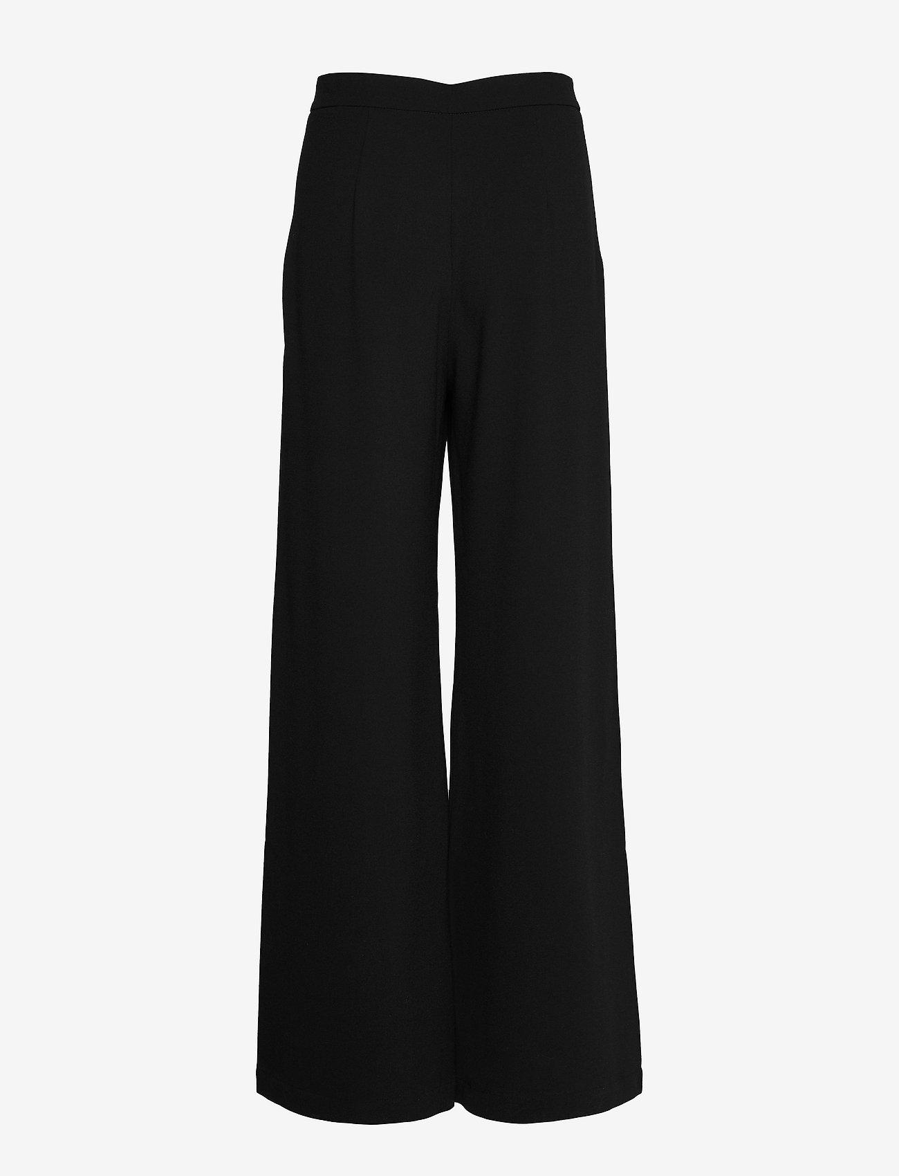 RODEBJER - SINI - bukser med brede ben - black - 1