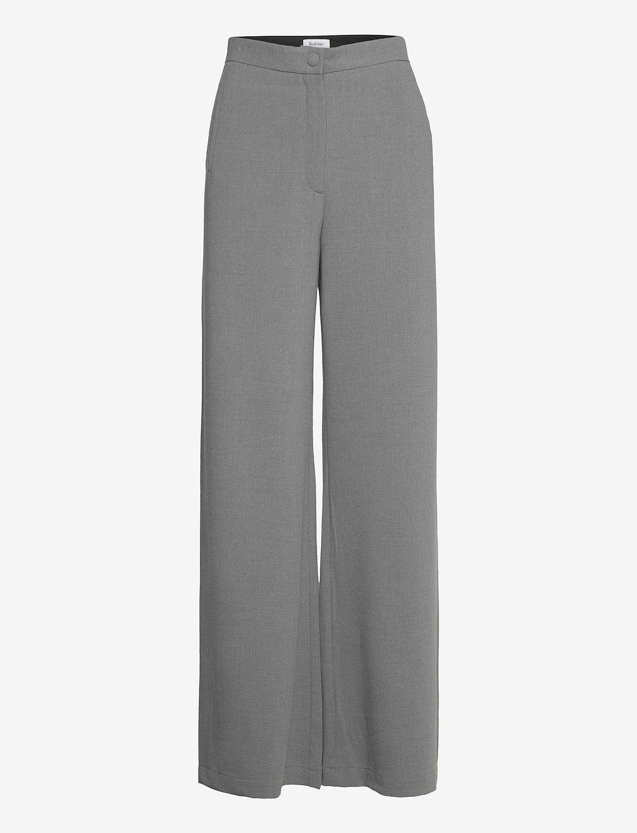RODEBJER - SINI - bukser med brede ben - grey - 0