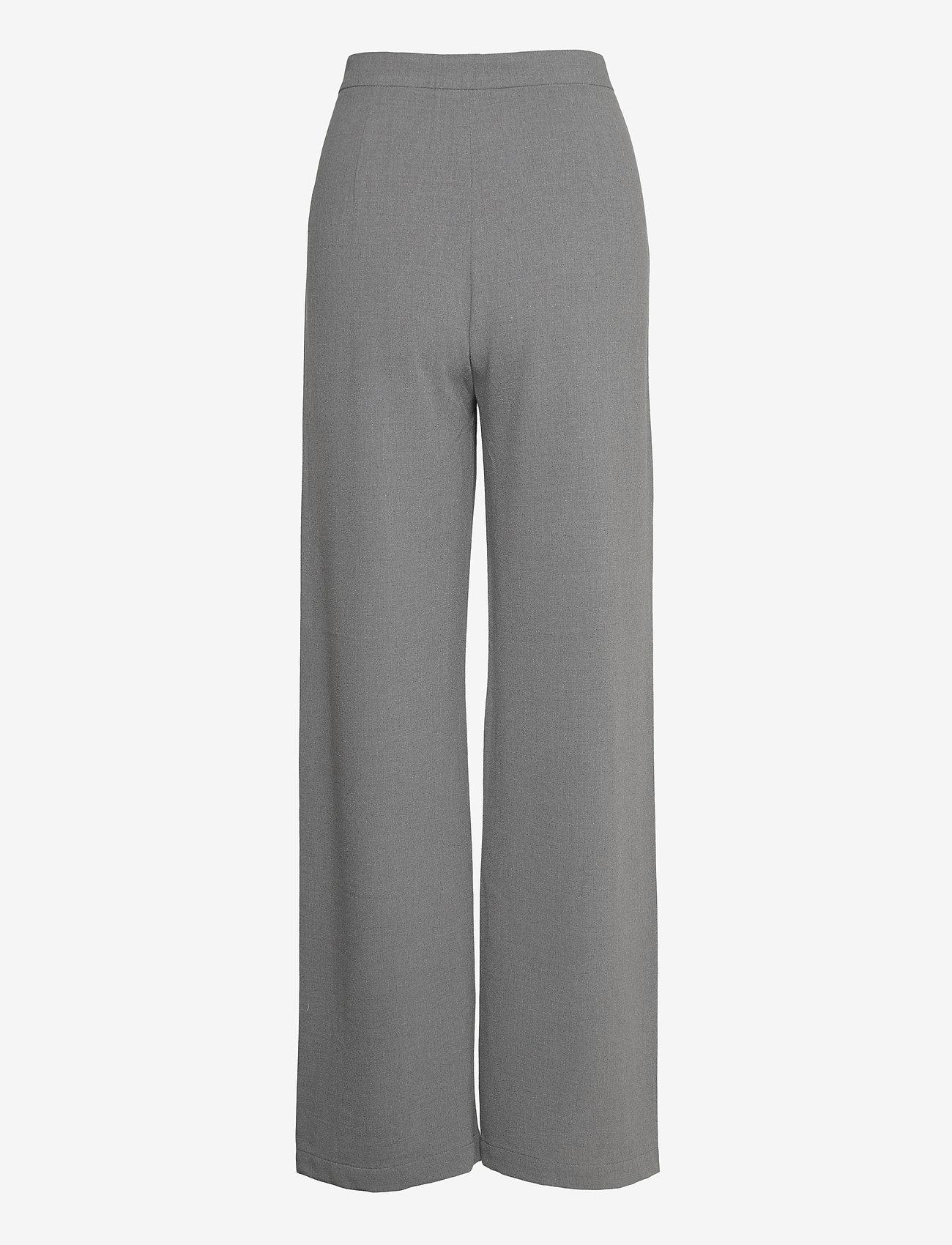 RODEBJER - SINI - bukser med brede ben - grey - 1