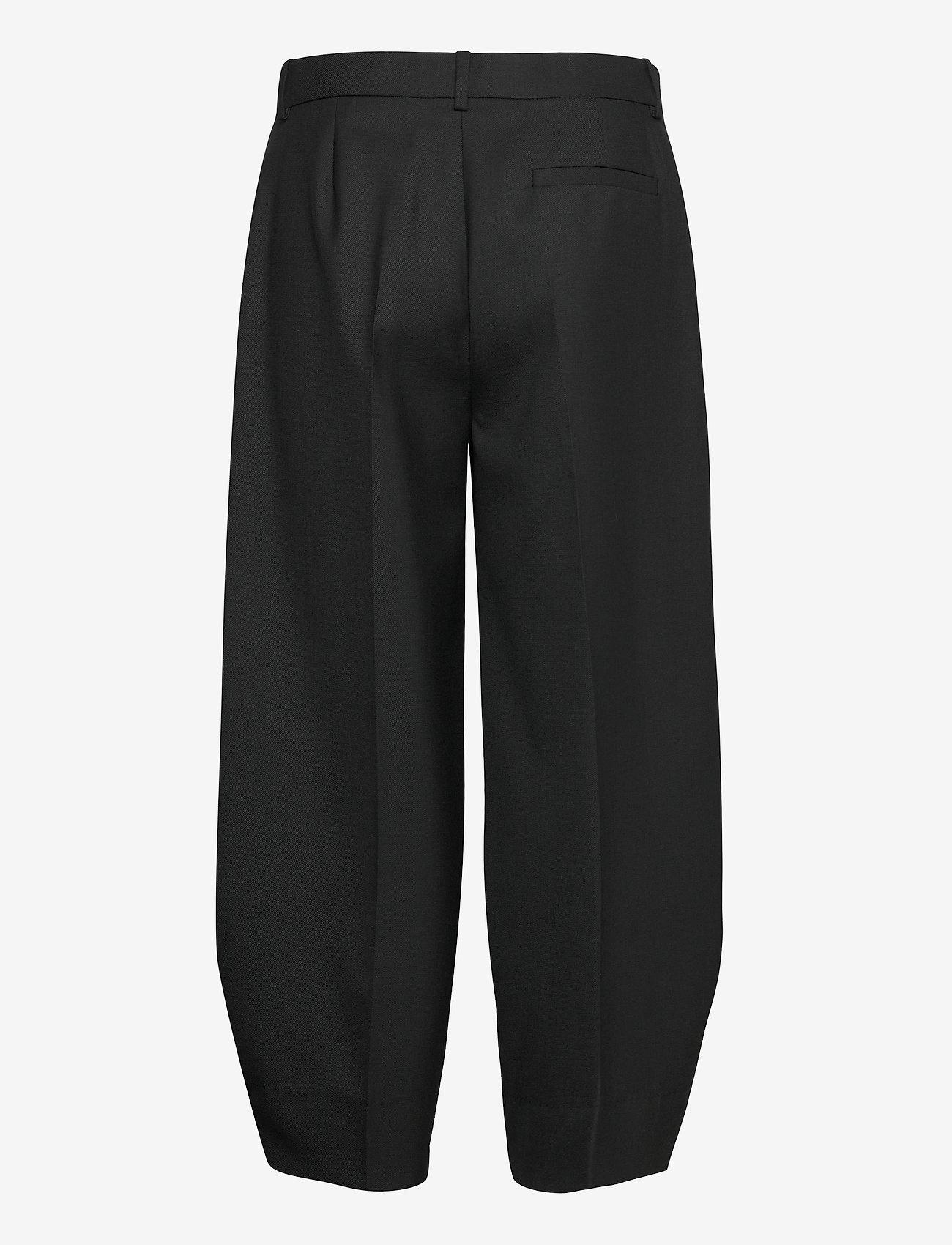 RODEBJER - RODEBJER AIA - bukser med brede ben - black - 1