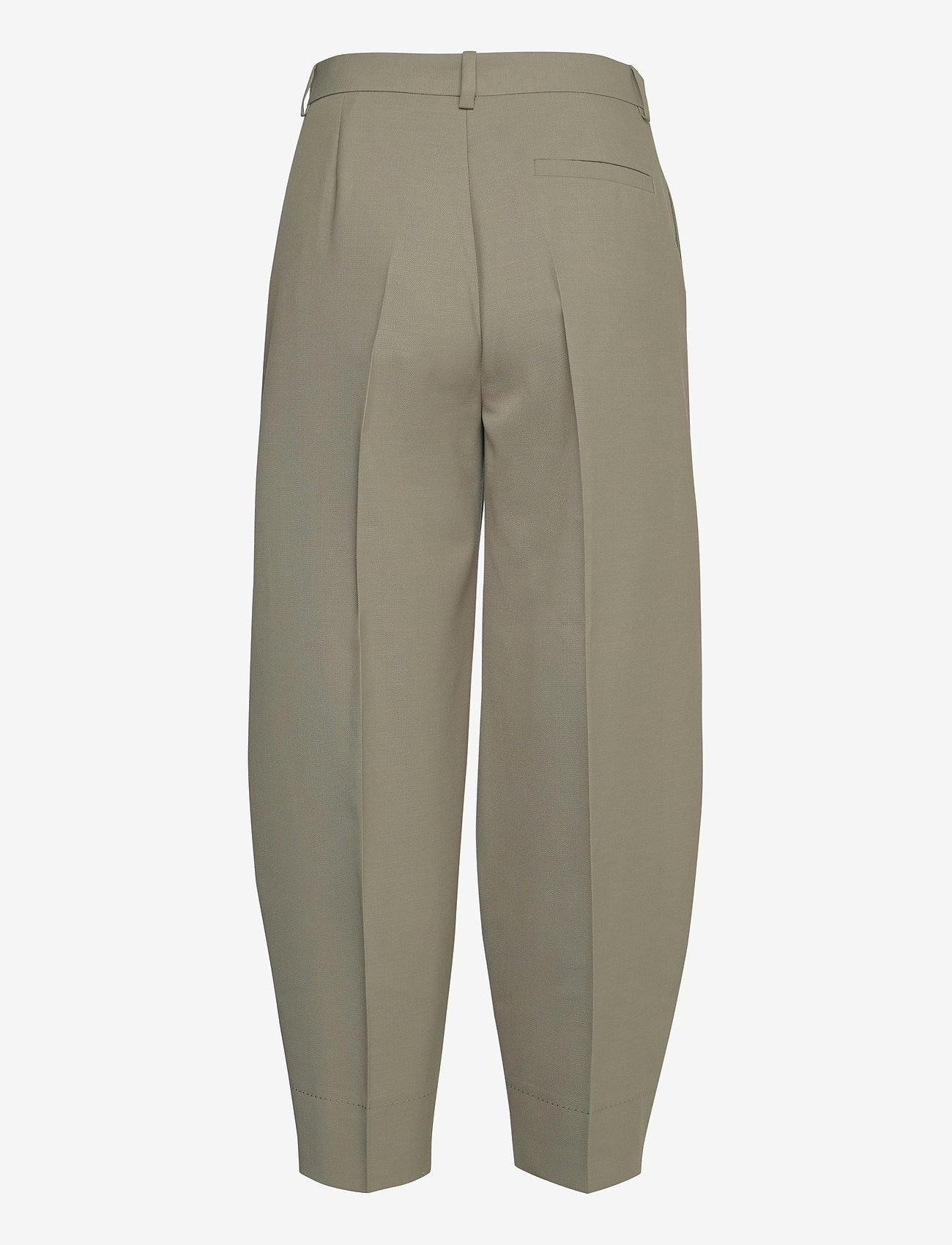RODEBJER - RODEBJER AIA - bukser med brede ben - olive leaf - 1