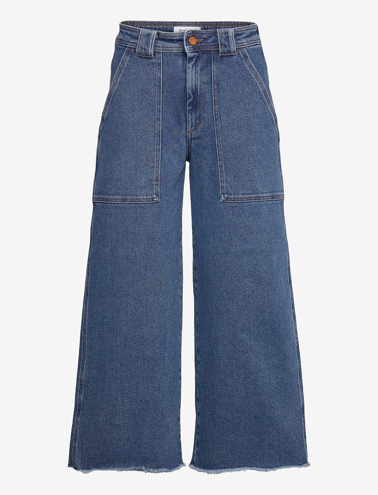RODEBJER - RODEBJER MIRARI DENIM - brede jeans - vintage blue - 0