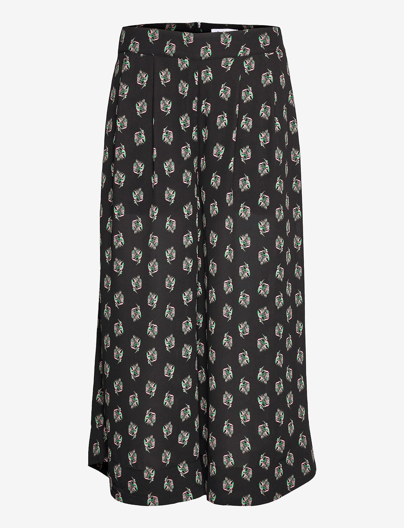 RODEBJER - RODEBJER ORINA - bukser med brede ben - black - 0