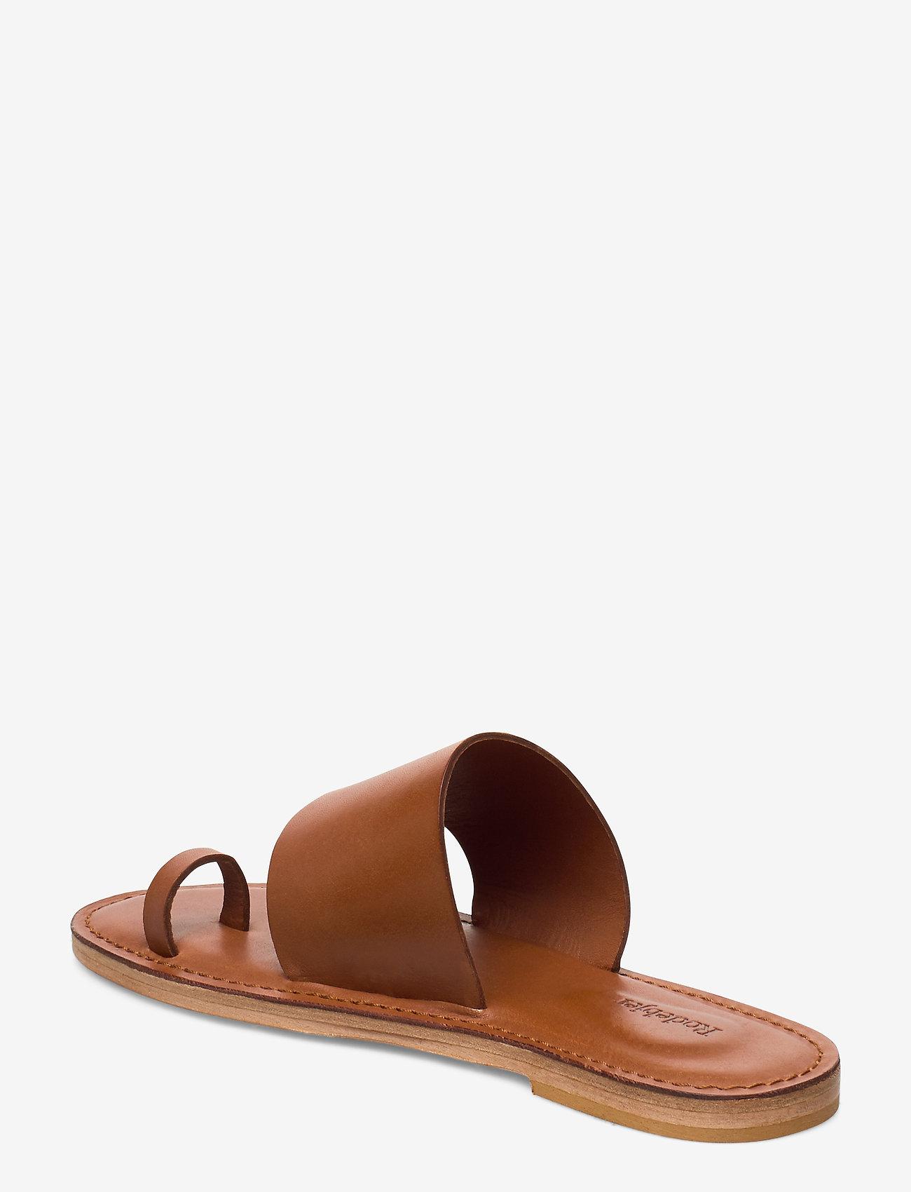 RODEBJER - RODEBJER KATE - flade sandaler - hazel - 2