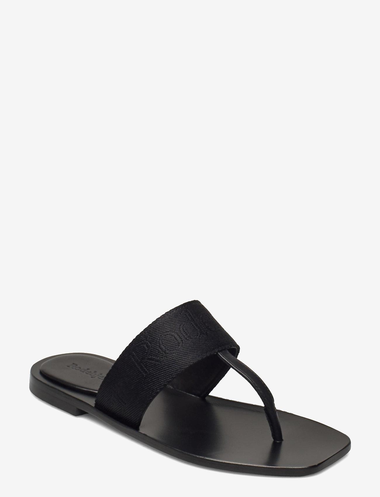 RODEBJER - RODEBJER ROZA - flade sandaler - black - 0