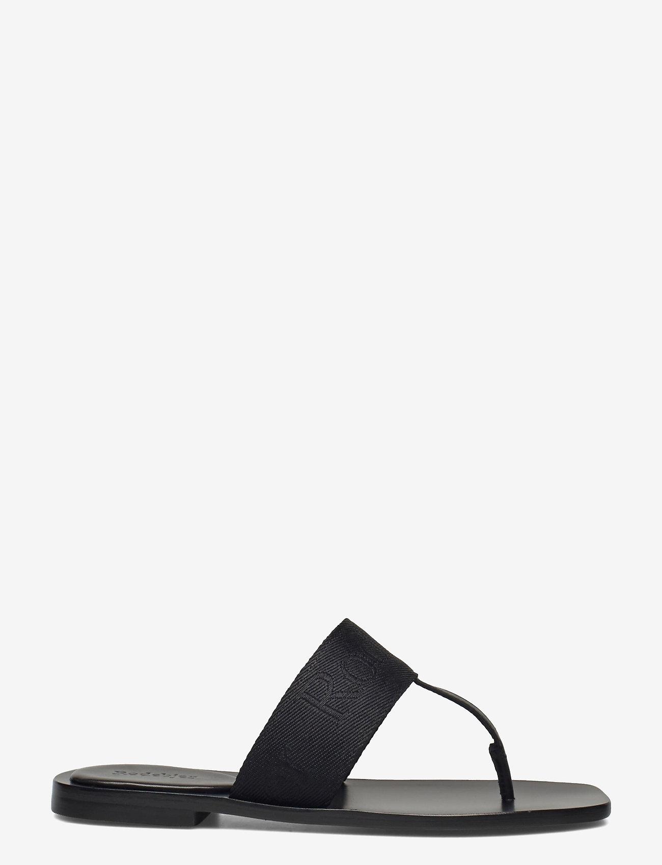 RODEBJER - RODEBJER ROZA - flade sandaler - black - 1