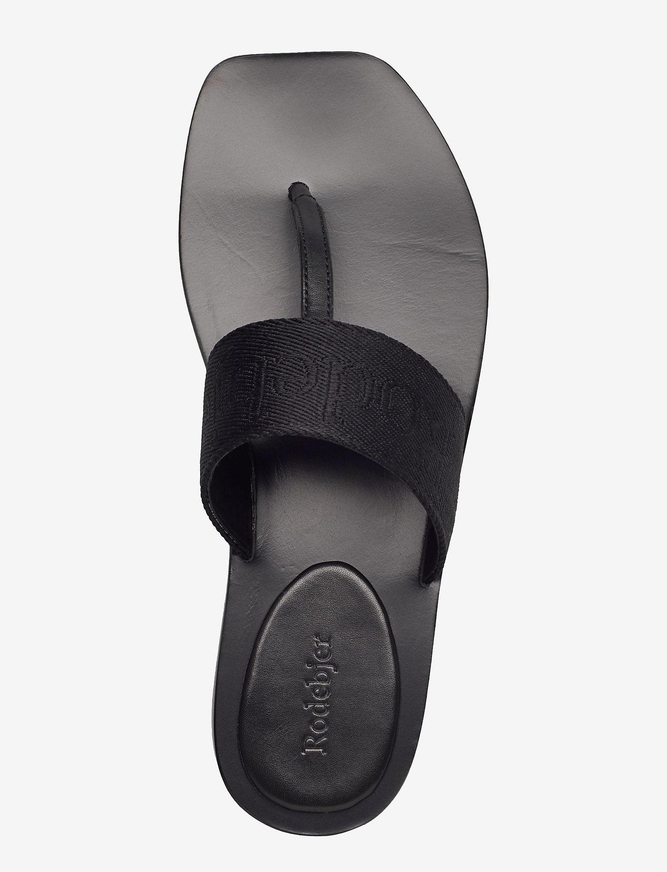 RODEBJER - RODEBJER ROZA - flade sandaler - black - 3