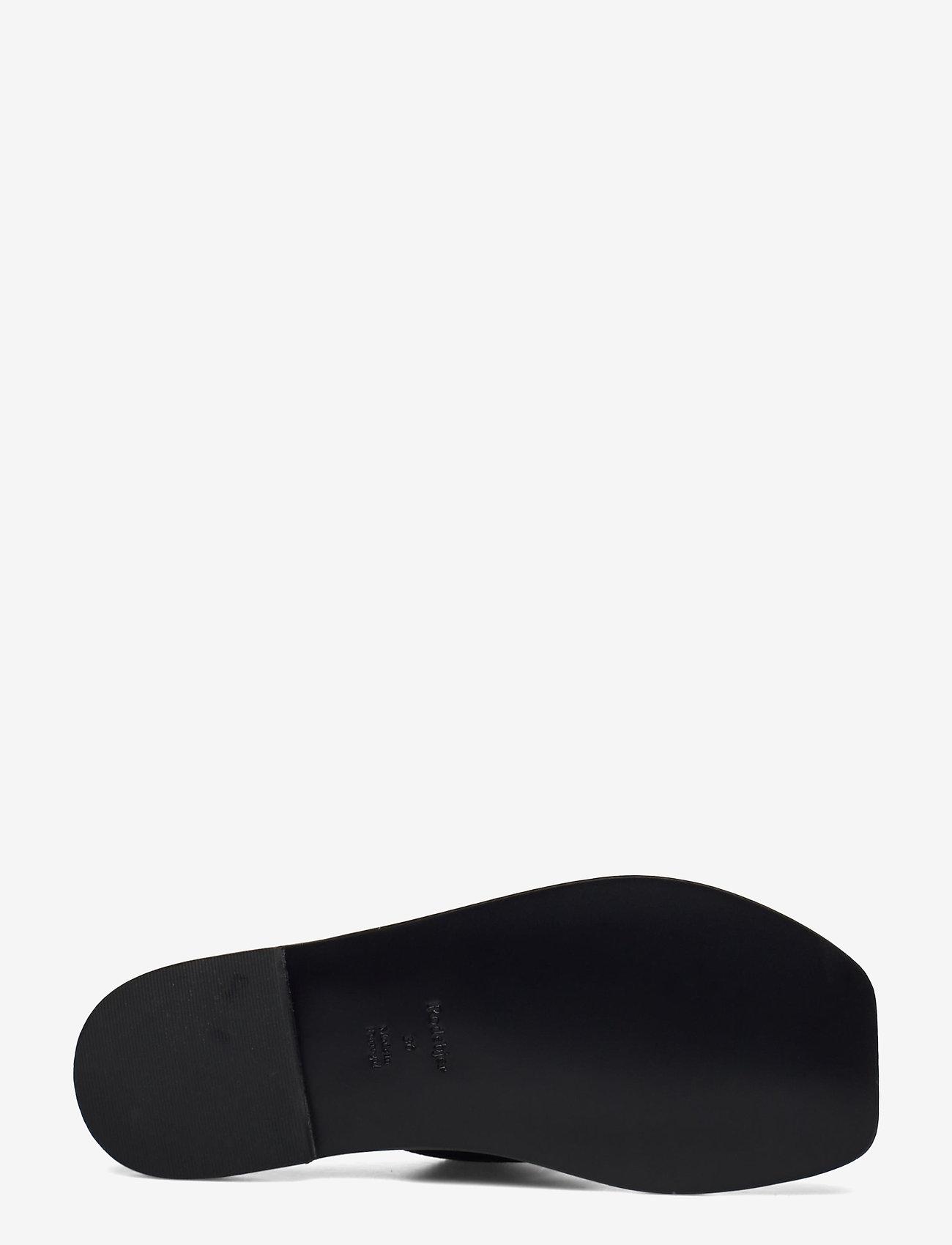 RODEBJER - RODEBJER ROZA - flade sandaler - black - 4