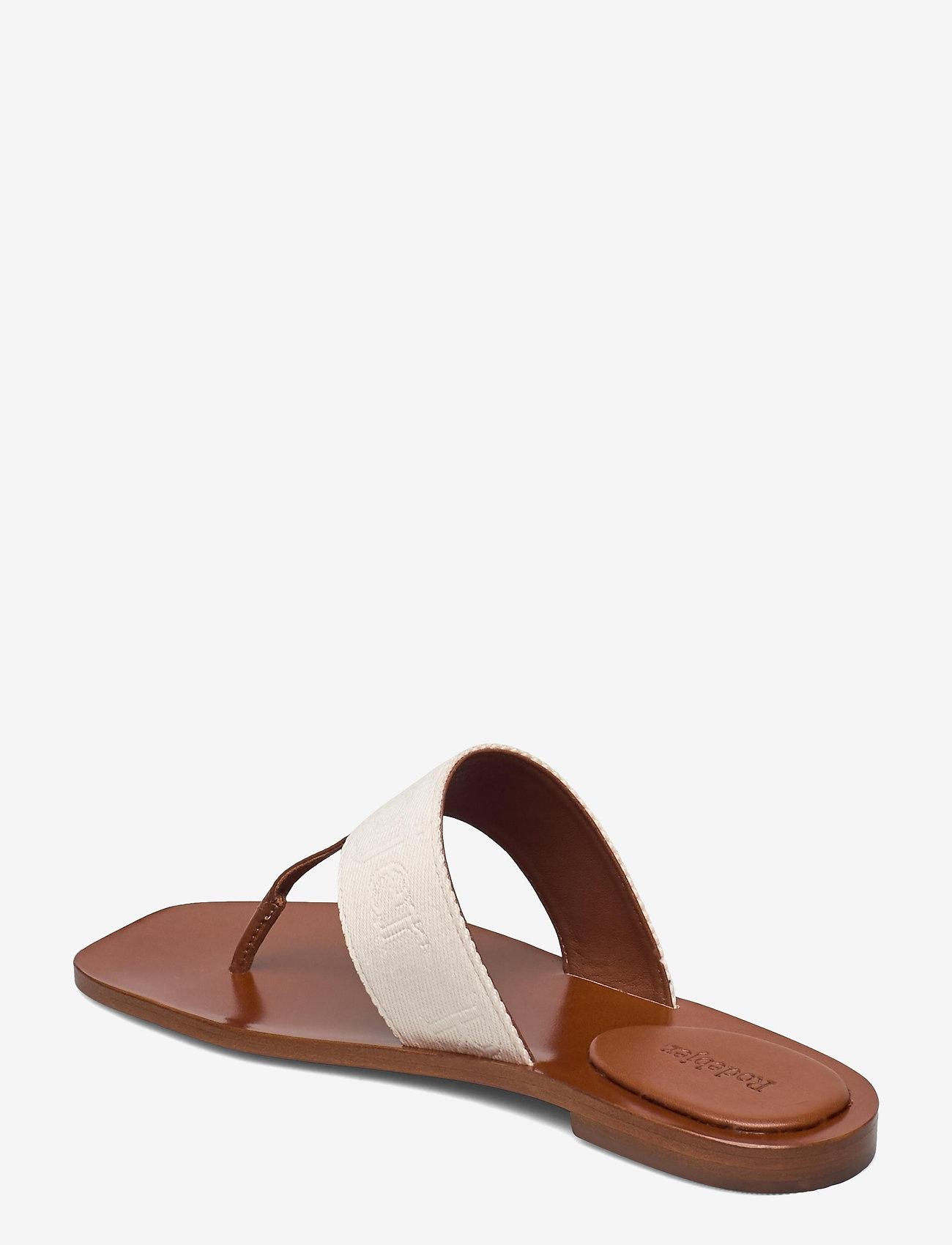 RODEBJER - RODEBJER ROZA - flade sandaler - hazel - 2