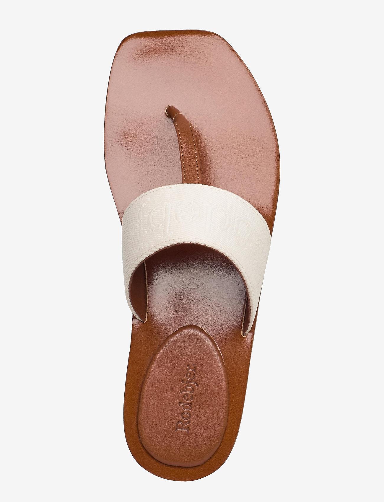 RODEBJER - RODEBJER ROZA - flade sandaler - hazel - 3
