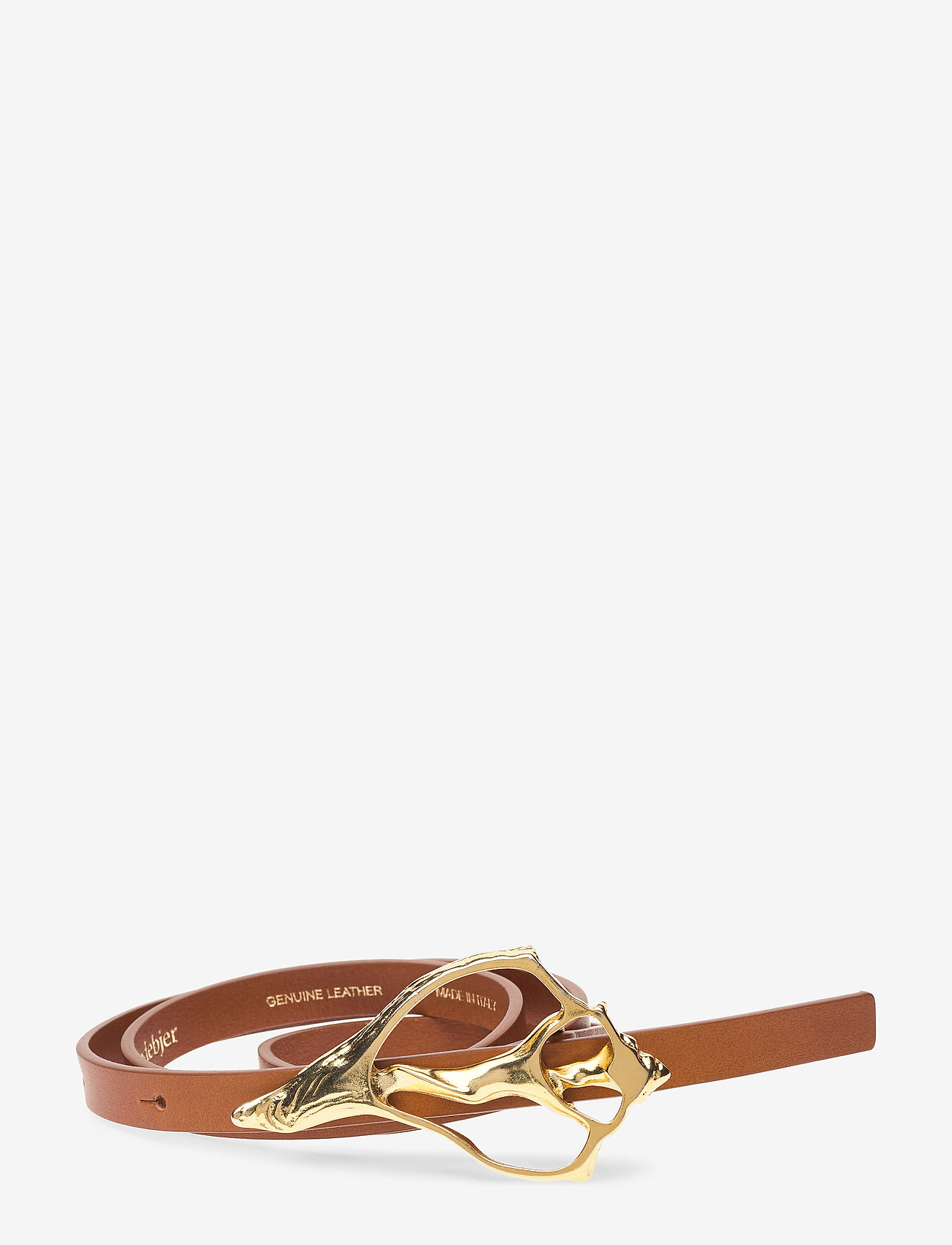 RODEBJER - RODEBJER SHELL - skärp - brown/gold - 0