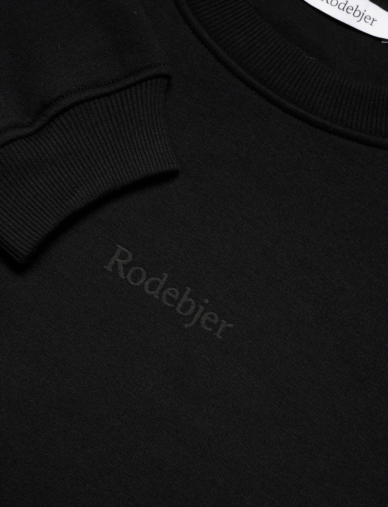 RODEBJER - RODEBJER KOLOMAN - sweatshirts & hættetrøjer - black - 2