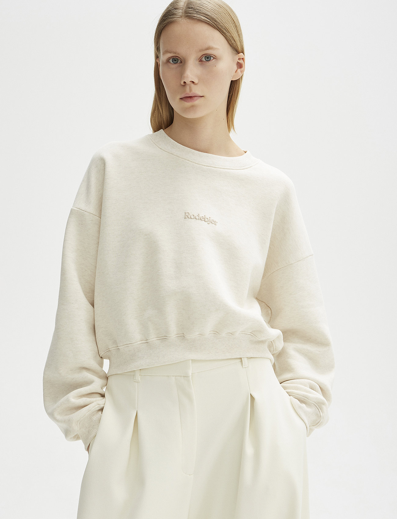 RODEBJER - RODEBJER KOLOMAN - sweatshirts & hættetrøjer - puffy white - 0