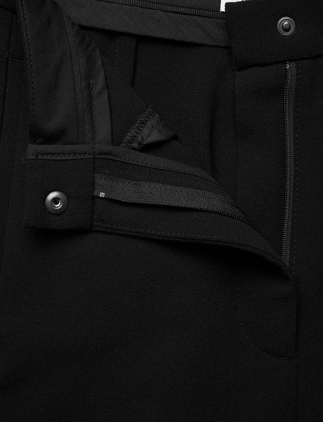 RODEBJER - SINI - bukser med brede ben - black - 3