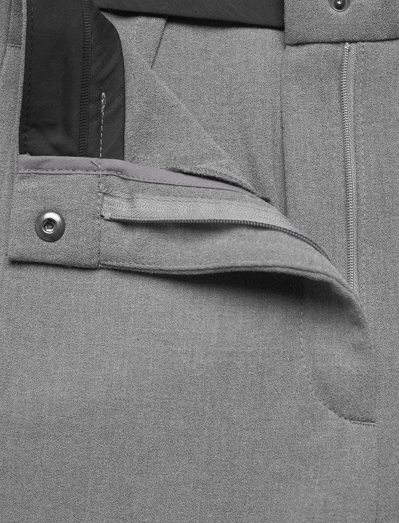 RODEBJER - SINI - bukser med brede ben - grey - 3