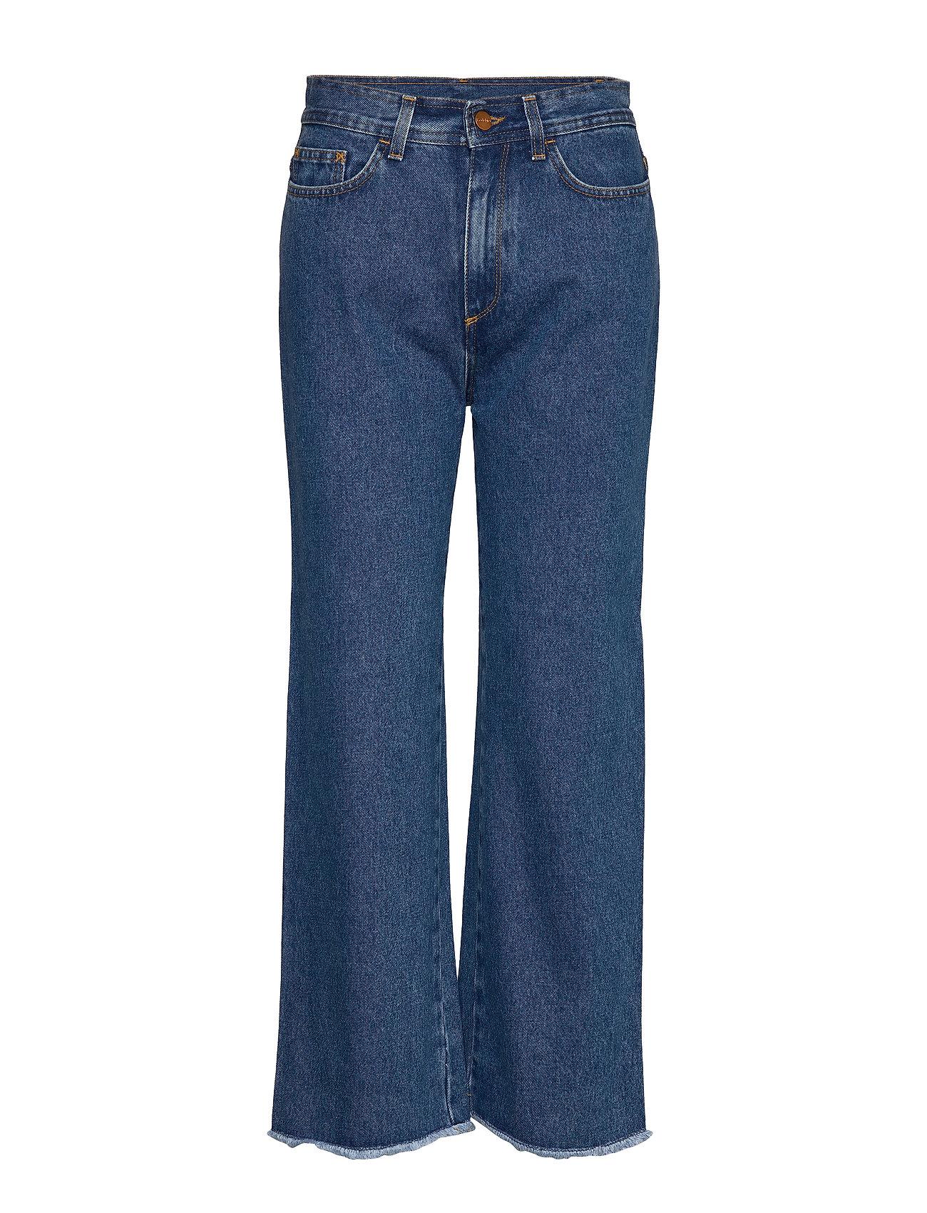 Image of Farrah Vide Jeans Blå RODEBJER (3292170213)
