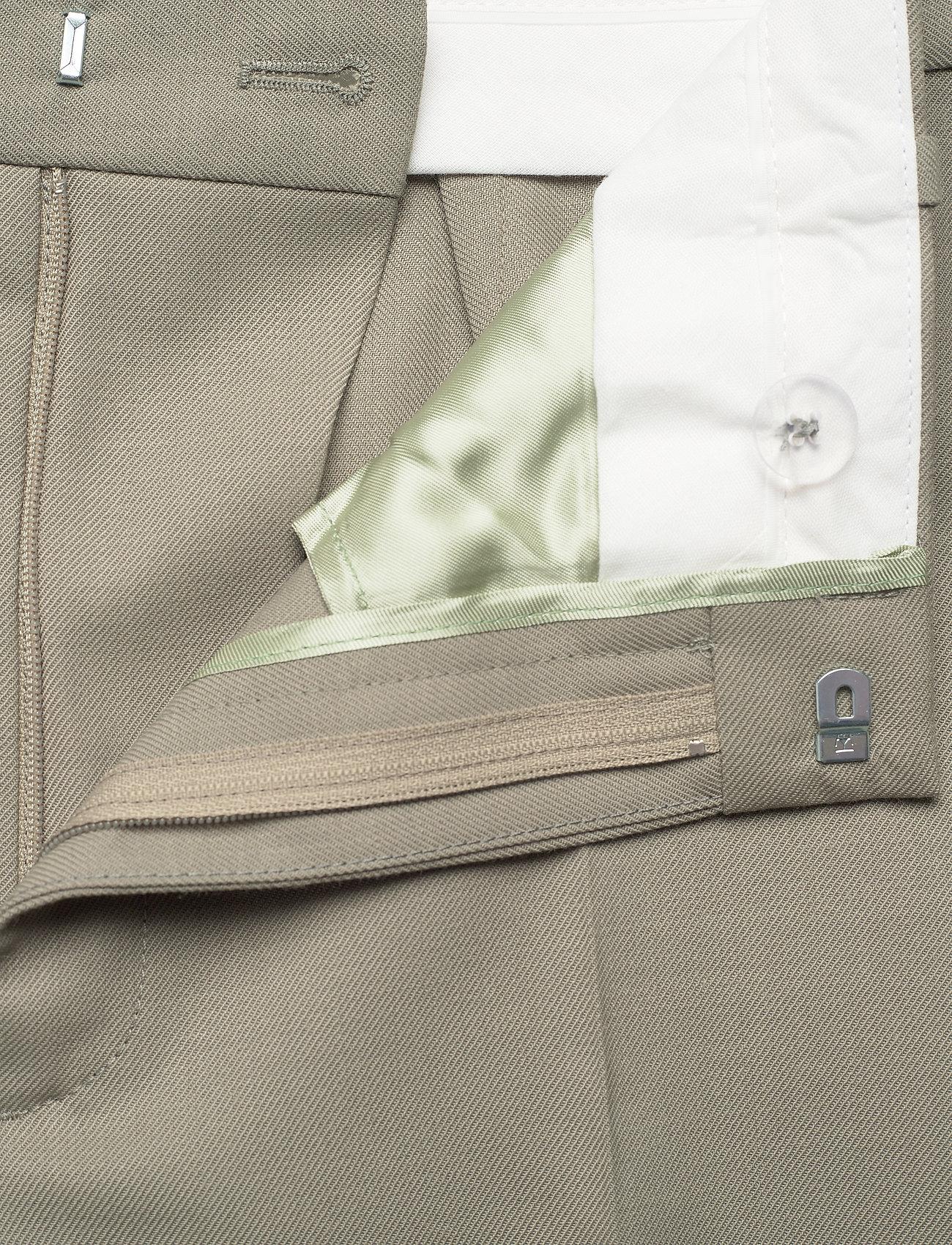 RODEBJER - RODEBJER AIA - bukser med brede ben - olive leaf - 3