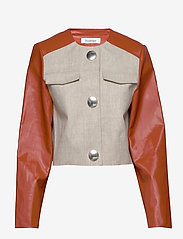 RODEBJER - RODEBJER KAYLA - leather jackets - sand - 1