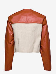 RODEBJER - RODEBJER KAYLA - leather jackets - sand - 2