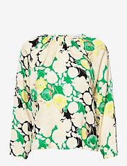RODEBJER - RODEBJER SOLOMIYA - blouses met lange mouwen - spring green - 0
