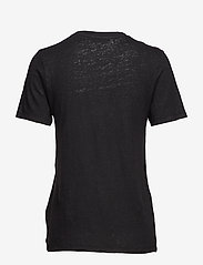RODEBJER - Ninja Linen - t-shirts - black - 1