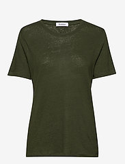 RODEBJER - Ninja Linen - koszulki basic - shaded palm - 0