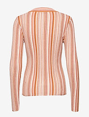 RODEBJER - RODEBJER VALA STRIPE - striped t-shirts - faded terracotta - 2