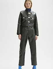 RODEBJER - RODEBJER REZA - leather jackets - pine - 0
