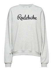 RODEBABE SWEATSHIRT - GREY MELANGE