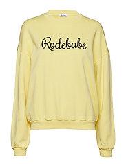 RODEBABE SWEATSHIRT - LIGHT YELLOW