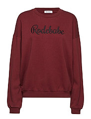 RODEBABE SWEATSHIRT - MERLOT GRAPE