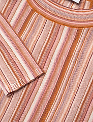 RODEBJER - RODEBJER VALA STRIPE - striped t-shirts - faded terracotta - 3