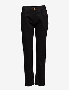 SUSAN - straight jeans - black