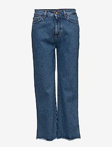 FARRAH - pantalons larges - vintage blue