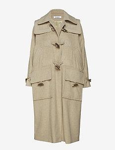 ALDOESE - wool coats - clay